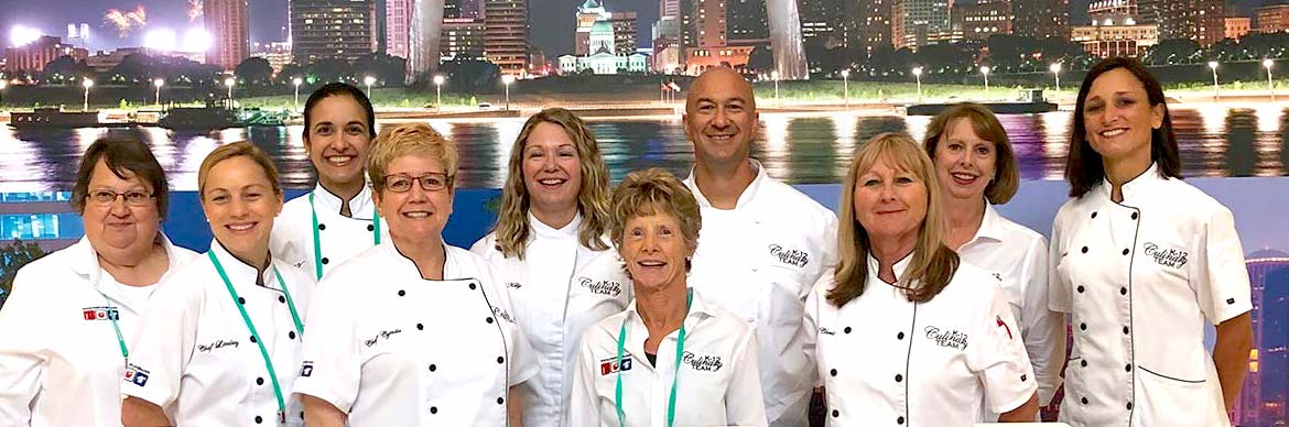 The K-12 Culinary Chefs at the School Nutrition Association National Conference