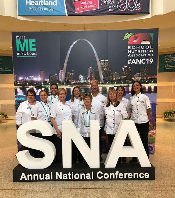 K-12 Culinary Team at SNA National Conference